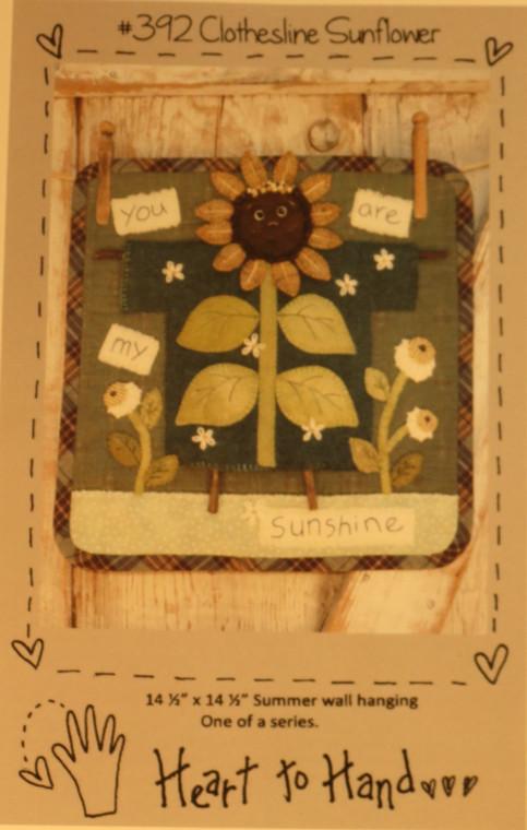 Clothesline Sunflower