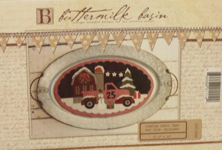 Vintage Trucks Thru the Year - December