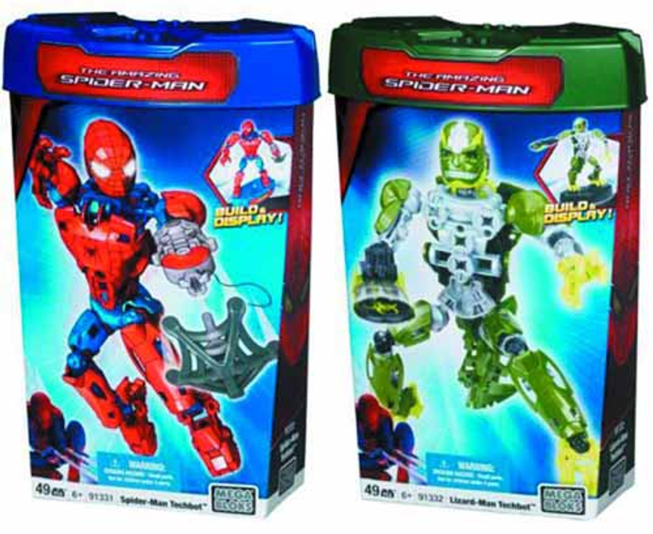 Lizard Techbot Mega Bloks The Amazing Spider-man