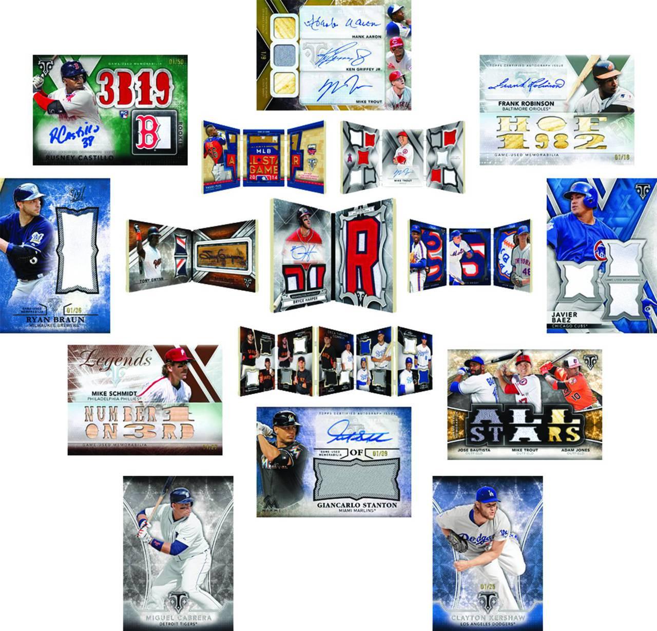 Topps 2015 Triple Threads Baseball Trading Cards Tc Box Pre Order