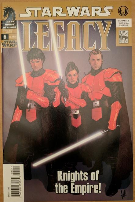 STAR WARS LEGACY # 21 NEAR MINT