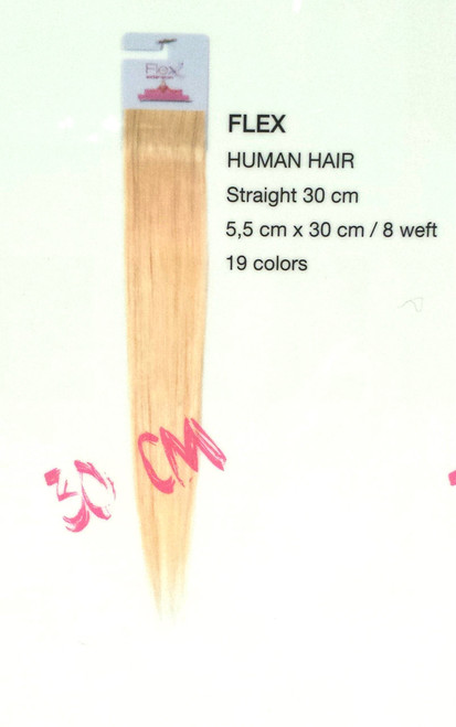Flex Extension 30cm Fashion/ Long Hair/ Volume 100% Human Hair