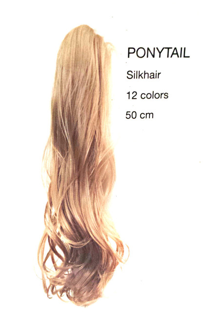 Hair Contrast Ponytail /Silk hair 50 cm