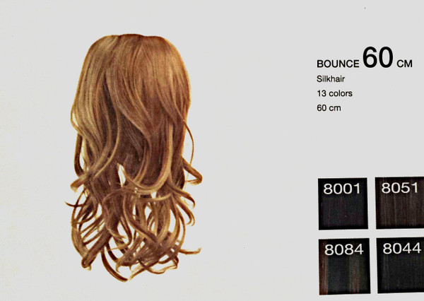 Long hair in 2 minutes