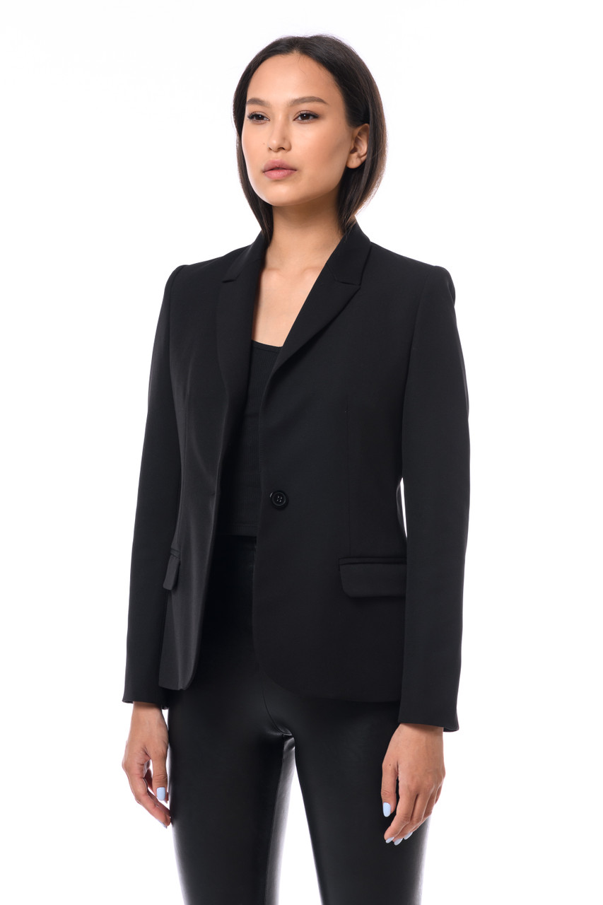 """QUEEN OF F**KING EVERYTHING""    Black Blazer SEVEN LAB"