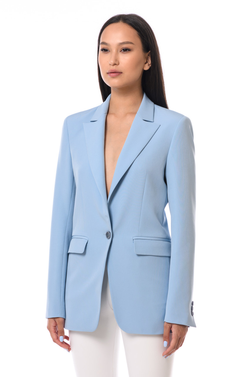 """QUEEN OF FUCKING EVERYTHING"" Blue Blazer SEVEN LAB"