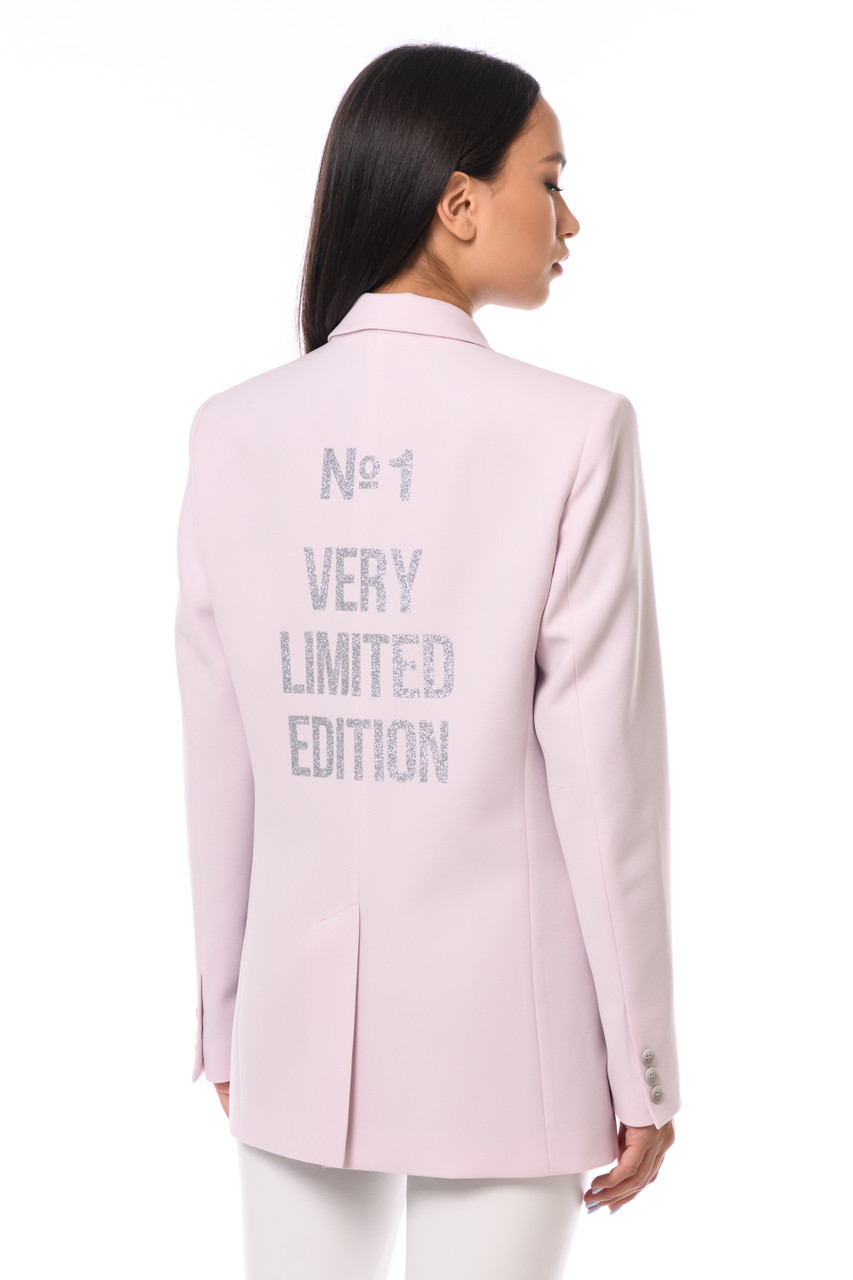 """N1 VERY LIMITED EDITION"" Pink Blazer SEVEN LAB"