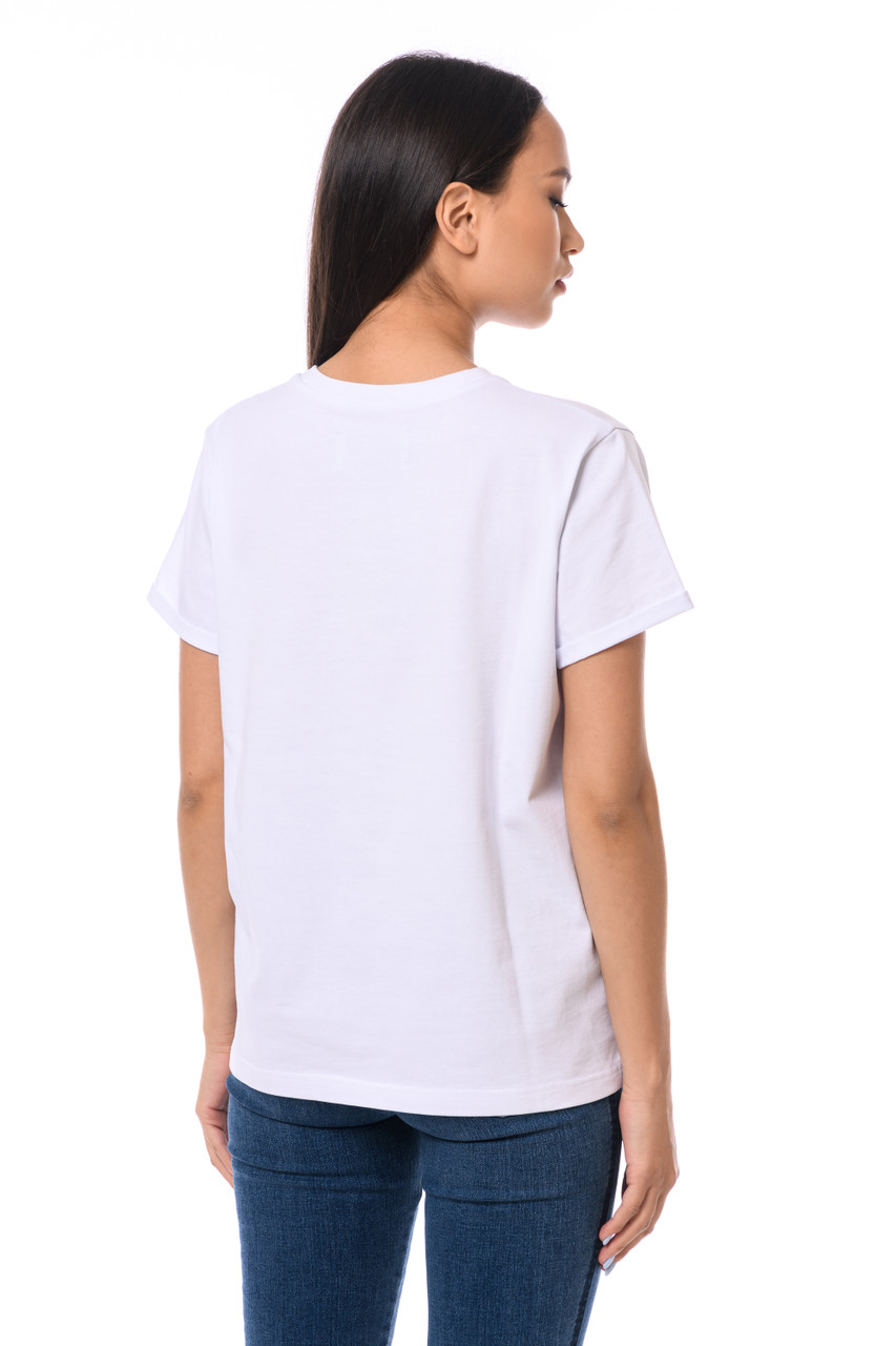 """""""TAKE ME ANYWHERE"""" T-shirt with shiny inscription SEVEN LAB"""