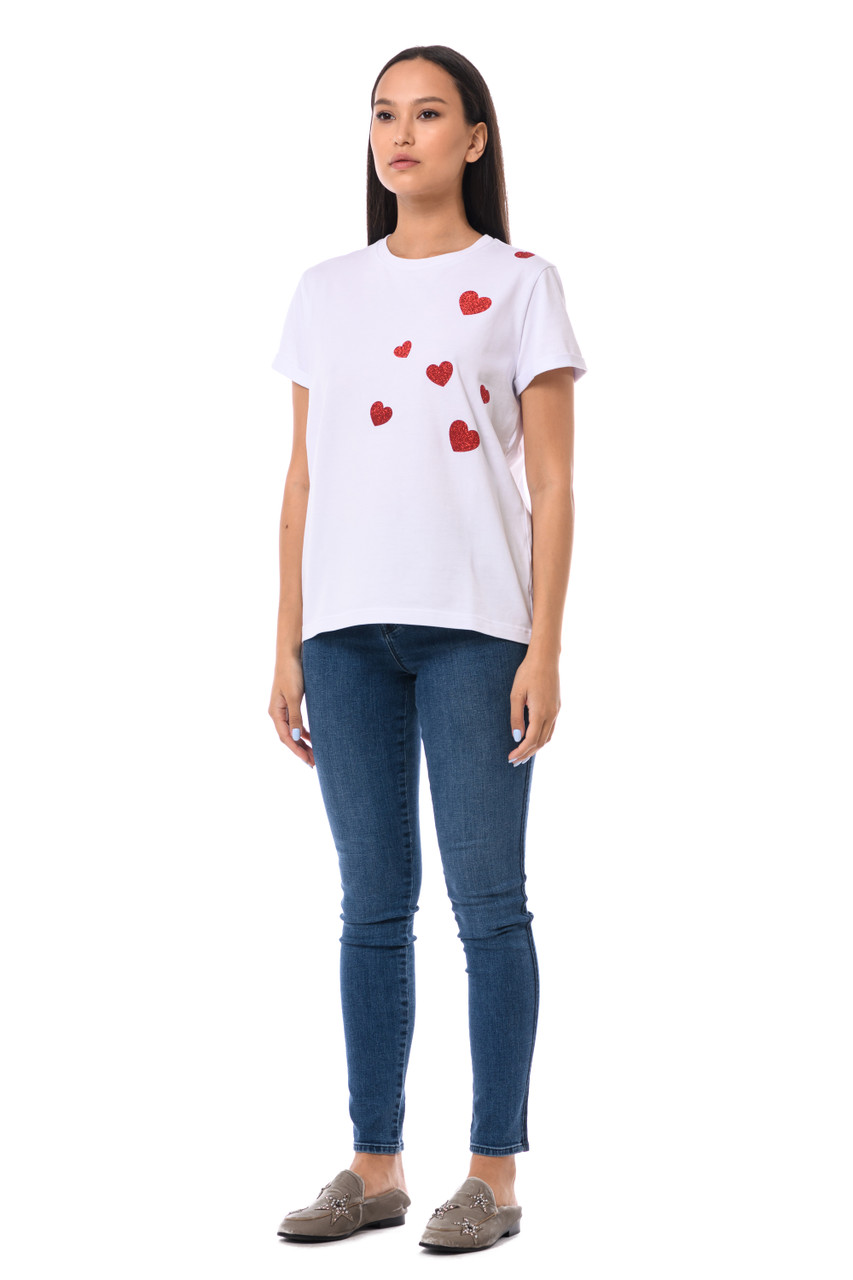 """RED HEART"" T-shirt  SEVEN LAB"
