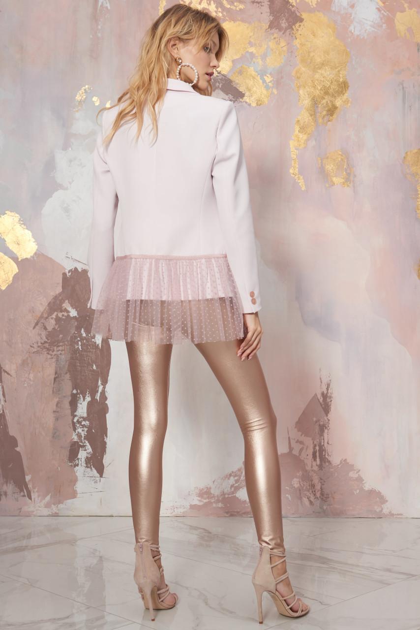 Pink Blazer with peplum SEVEN LAB