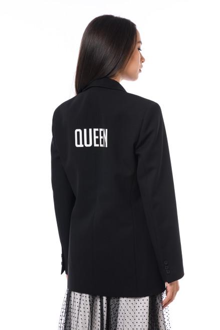 """""""QUEEN""""    Black Blazer SEVEN LAB"""