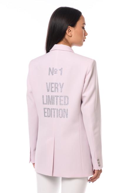 """N1 VERY LIMITED EDITION"" Pink Blazer SEVEN LAB"