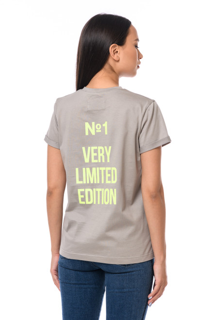 """N1 VERY LIMITED EDITION"" T-shirt with shiny inscription SEVEN LAB"
