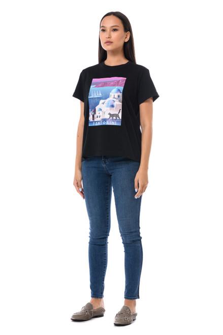 """SANTORINI"" T-shirt SEVEN LAB"