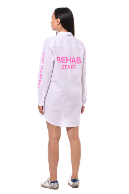 """""""REHAB STAFF"""" Shirt with the inscription SEVEN LAB"""