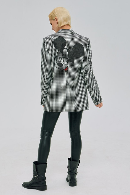 """""""MICKEY MOUSE"""" black and white Blazer SEVEN LAB"""
