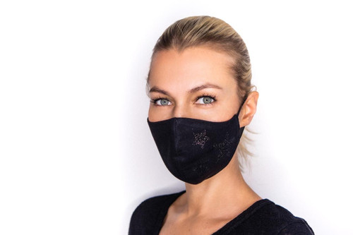 Dark Star mask in black
