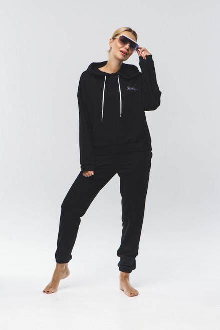 """Saint...""  Track Suit in black"