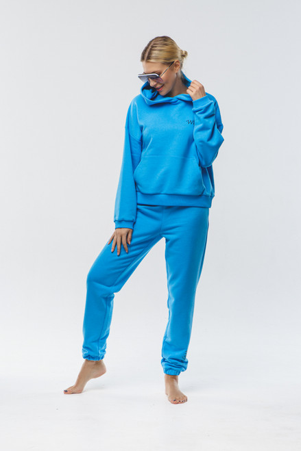 """Why not...""  Track Suit in blue"