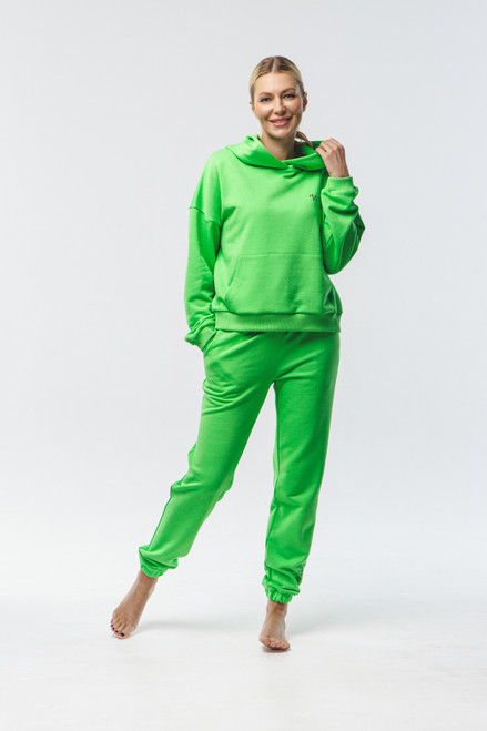 """Why not...""  Track Suit in green"