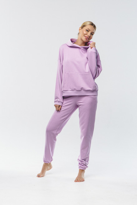 """In Love..."" Track Suit in lilac"