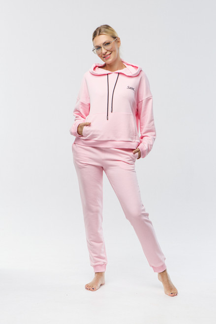 """Saint...""  Track Suit in pink"