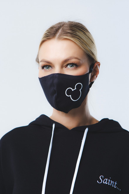 Mickey mask in black