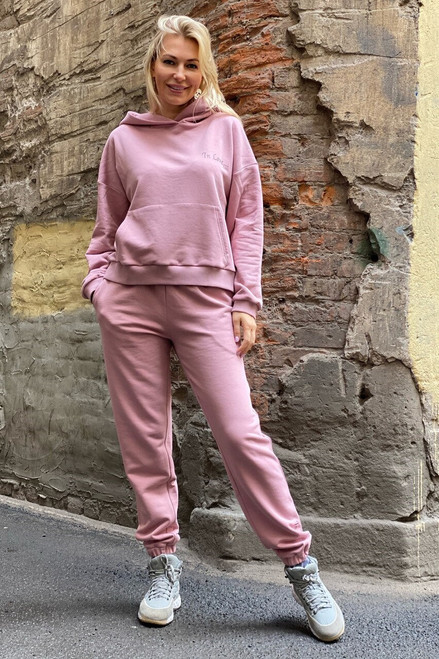 """In Love..."" Track Suit in blush"