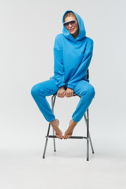 """Baby Blue track suit """"Why not"""""""