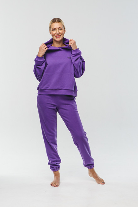 """Purple track suit """"Why not"""""""