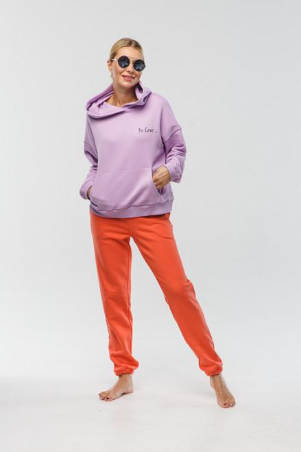 Orange sweatpants