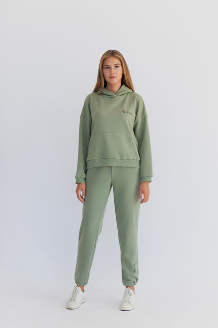 "Pistachio track suit  ""Why not ..."""