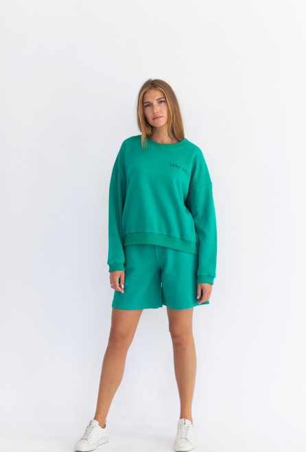 """Emerald track suits """"Why not"""""""