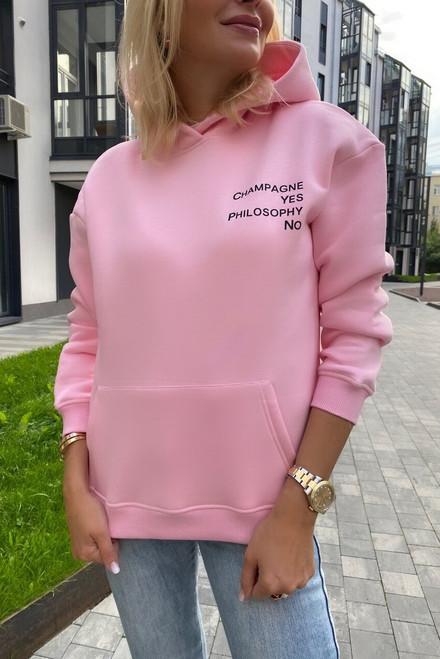 Flees pink hoodie