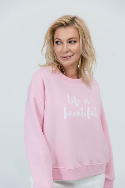 Pink flees sweatshirt