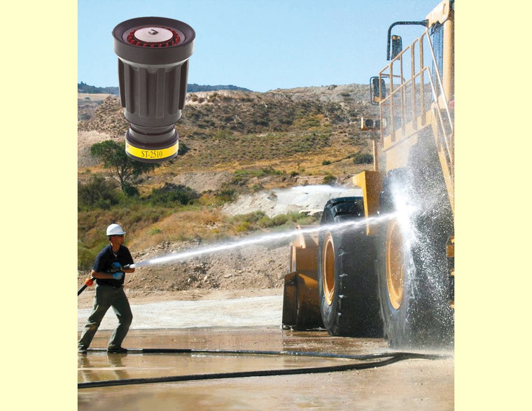 The ST 2510 tip a great valued industrial nozzle. Photo courtesy of Riveer Engineered Services