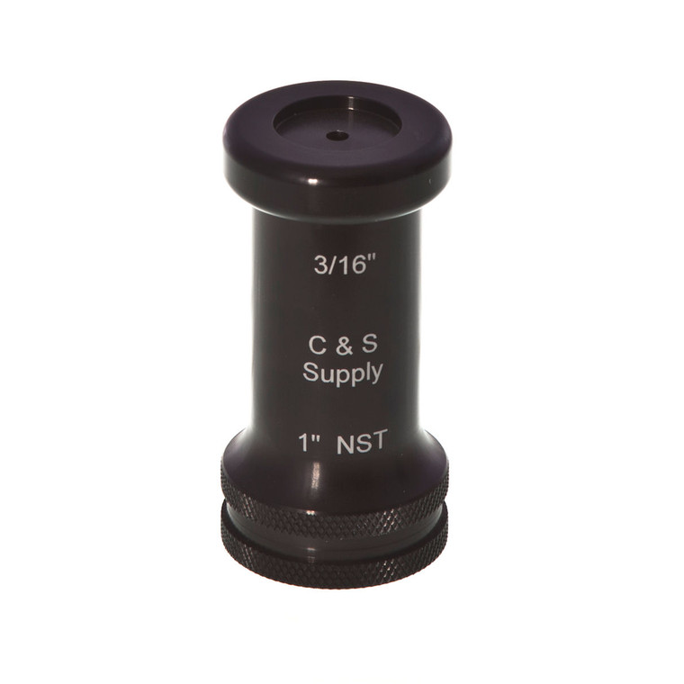 """1"""" Straight Bore Nozzle with 3/16"""" OUTLET MODEL #1STBR3/16"""