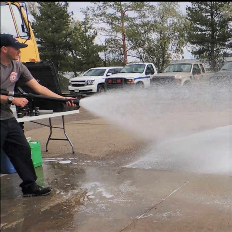 Incredibly fast and always reliable Class A firefighting foam from C & S Supply.