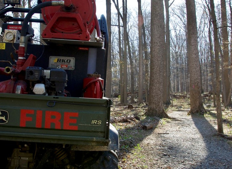 Prescribed burns are all about the details. Don't neglect a great drip torch mount.