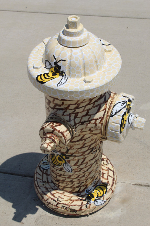 Who knows? Maybe you'll get honey out of this one. Better hook up that hydrant gate valve just in case.