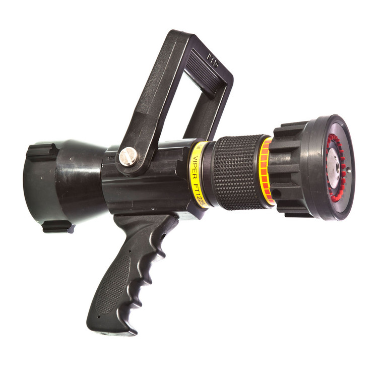 """125 - 250 GPM 2 1/2"""" automatic nozzle with pistol grip"""