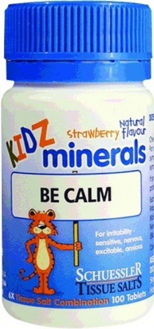 M&P Kidz Minerals Be Calm 100t