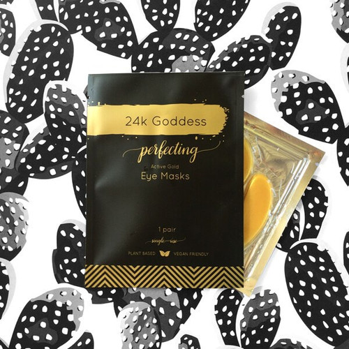 24K Goddess Active Gold Masks