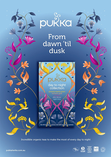 Pukka from Day to Night Collection