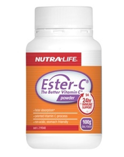 NUTRALIFE ESTER-C POWDER 250G RRP $64.99
