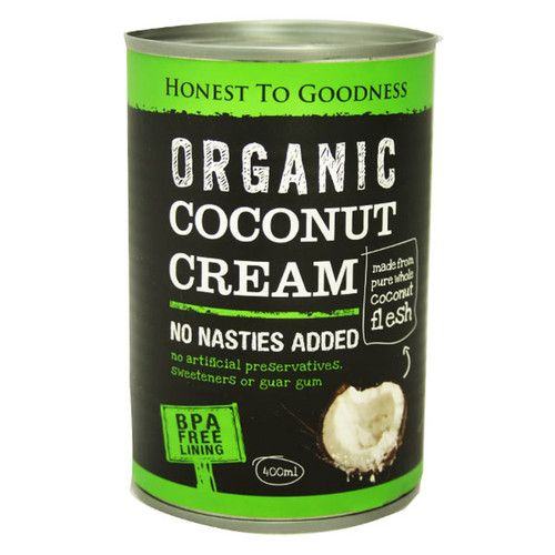 H2G Organic Coconut Cream 400ml