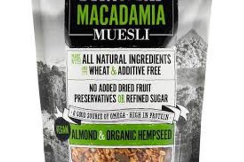 Byron Bay Macadamia Muesli Almond & Organic Hempseed 415g