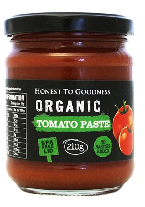 H2G Organic Tomato Paste