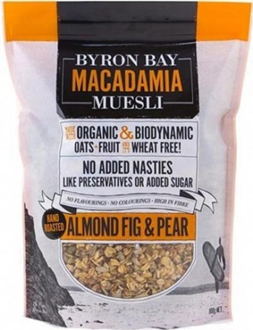 Byron Bay Muesli Almond, Fig & Pear 900g