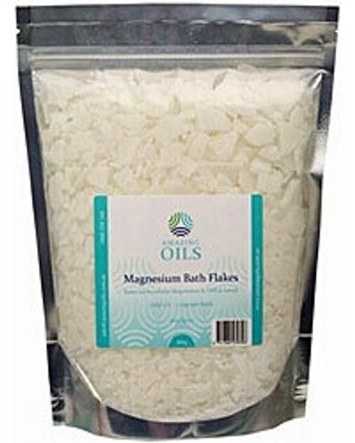 AMAZING OILS Magnesium Bath Flakes 800g (1)